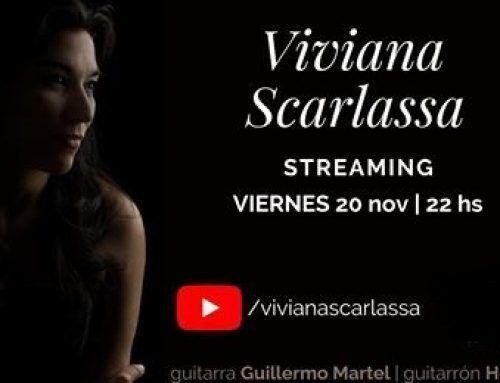Viviana Scarlassa Tango Streaming con Guillermo Martel y Hernán Ielapi