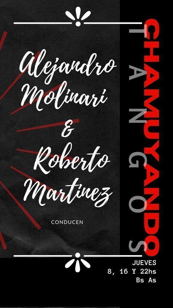 Lunfardeando con Alejandro Molinari & Roberto Luis Martínez