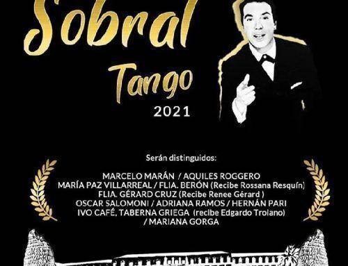 Este lunes entregan las distinciones Sobral Tango 2021