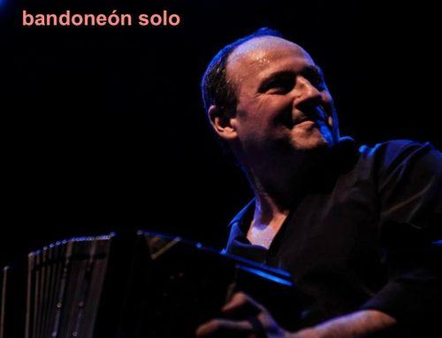 Carlos Quilici presenta Bandoneón Solo